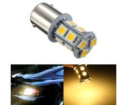 Automatisk LED-lampa Varm vit ljus
