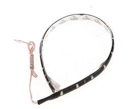 LED-remsa för bil 30Cm 15-SMD 12V