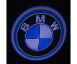 BMW Dörrbelysning Projekt BMW Logo