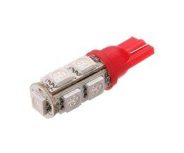 Rött LED-ljus