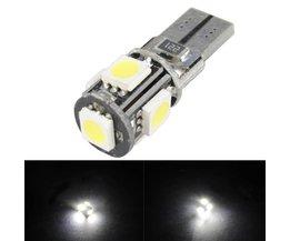 LED bil i färg vit