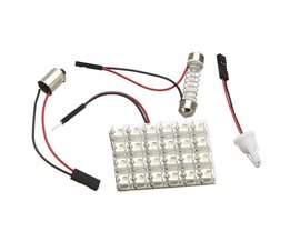 Bilinredning 12V vit LED-ljus