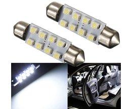LED bilbelysning 12V tak