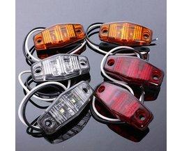 LED-sidomärkning för bilen