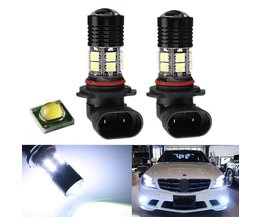 LED-billampor 12V vitljus