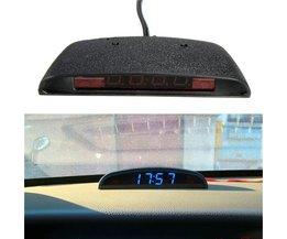 Automatisk klocka ger också temperatur och spänningsväder