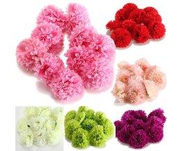 Silke Blommor (10 stycken)