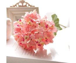 Fake Bouquet Hydrangea