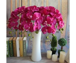 Orchid Artificial Flower Of Silk In 3 Colors