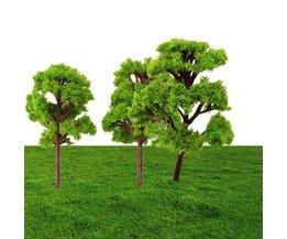 Miniatyrträd för dekoration (10 stycken)