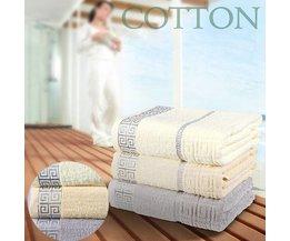 Set med 3 handdukar
