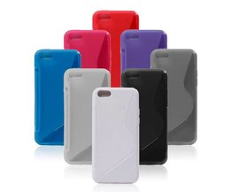 Mjukt fodral för IPhone 5C i olika färger