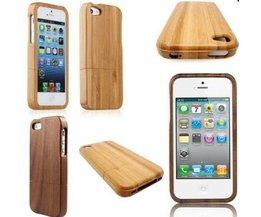 Träfodral för IPhone 5 & 5S