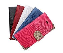 Bling Flip Väska För IPhone 5 Och 5S