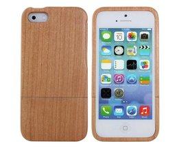 Fall av naturligt trä för IPhone 5 & 5S