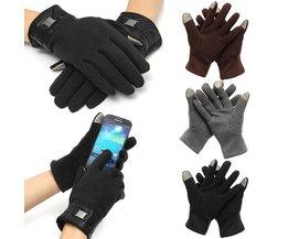 Touchscreen Handskar för män