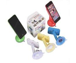 Telefonhållare med sugkoppar