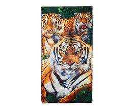 Strandlack med tiger
