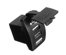 Duo USB Splitter Car
