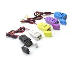 Vattentät USB-laddare Motorcykel