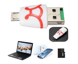 Micro USB-kortläsare