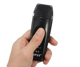 Handhållen mikrofon