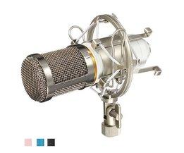 Kondensormikrofon BM800 inklusive stötfäste