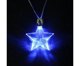 Hjärta och stjärna lampa 220V Retro