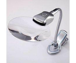 Förstoringsglas Skrivbord & bordslampa