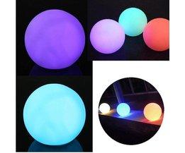 LED-lampa i olika färger