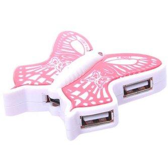 Hub USB med 4 portar