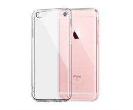Apple iPhone 6 Plus 6 s Clear TPU fallet täcker Slim Crystal Silikon Skydds Transparent Soft inpassade hårda fall IQD