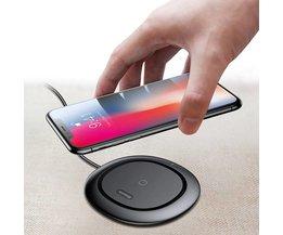Trådlös telefon Universalladdare för Samsung och iPhone