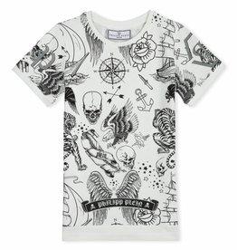 PHILIPP PLEIN T-Shirt Round Neck SS Dacio Creed