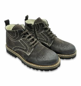 Andrea Montelpare Boys Suede Boots