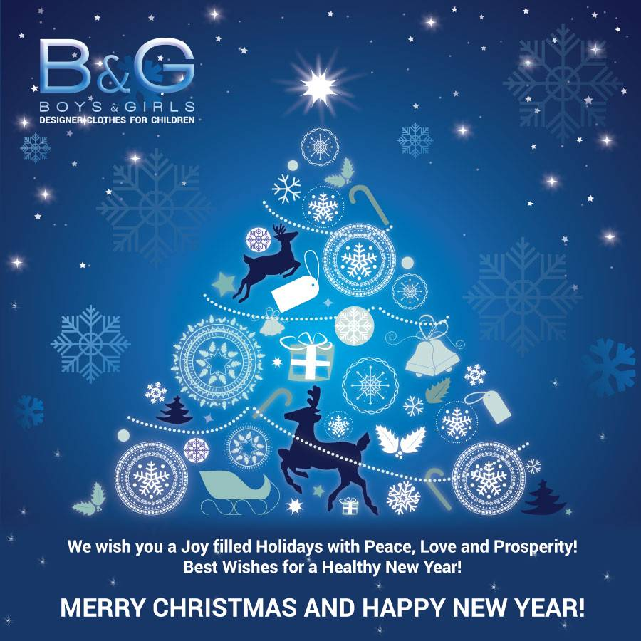 Greetings For Happy Christmas & Happy New Year!