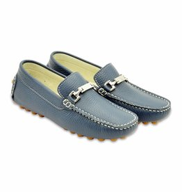Andrea Montelpare Leather Moccasins Boy