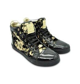 Roberto Cavalli Sneakers Black Gold Donna Scarpe