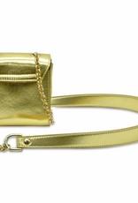 YOUNG VERSACE Girls Patent Shoulder Bag
