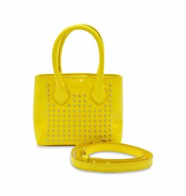 YOUNG VERSACE Girls Patent Hand Bag