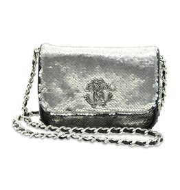 Roberto Cavalli Girls Clutch Bag with Sequin Detailing