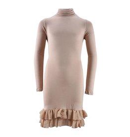 VIAELISA Beige Long-Sleeve Dress