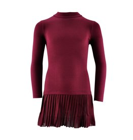VIAELISA Bordeaux Long-Sleeve Dress