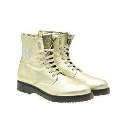 Roberto Cavalli Girls Classic Gold Boots