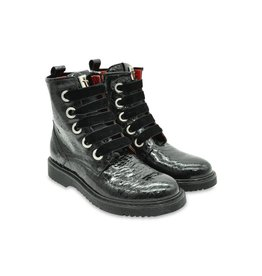 Cesare Paciotti Girls Black Glitter Boots