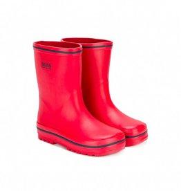 HUGO BOSS Kids Red Rain Wellies
