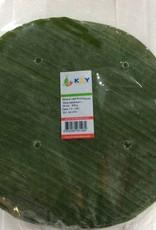 Banana Leaf Round 25cm (500gr.)