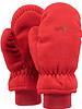 Barts fleece mitts red