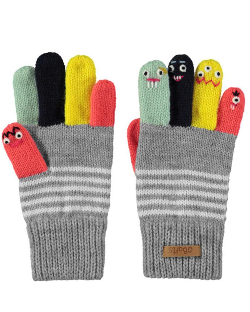 Puppet gloves grey