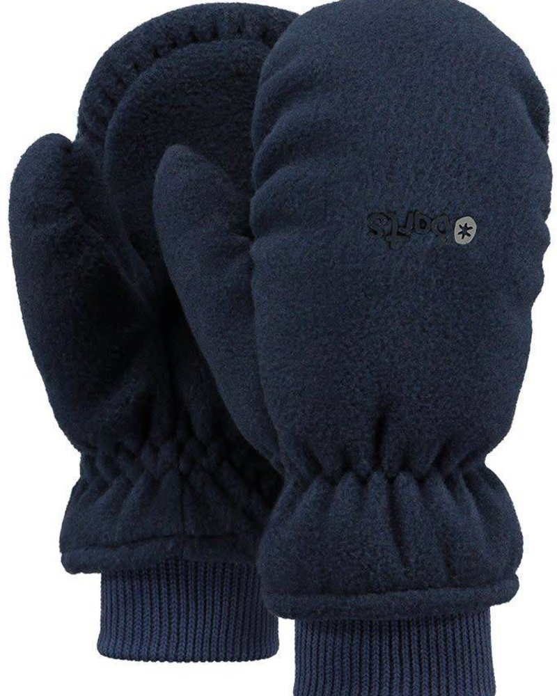 Fleece mitts navy